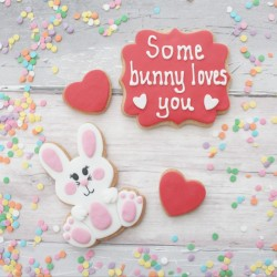 Valentine's Cookie Set - Some Bunny Loves You