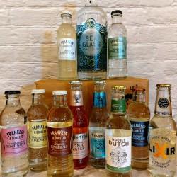 70CL Sea Glass Gin & 10 Tonic / Mixer Box