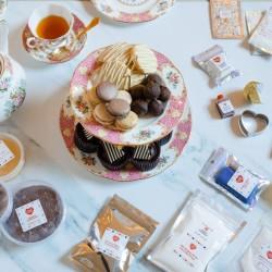 Afternoon Tea Baking Box -Traditional English Afternoon Tea