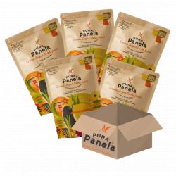 Panela Natural Sugar Alternative- Dried Sugar Cane Juice (Box of 12)