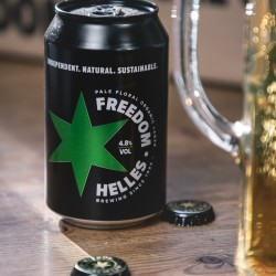 Freedom Helles (4.8%) - 24 Beer Cans