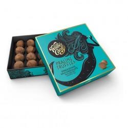 Luxury Chocolate Box - Praline Truffles Single Estate Milk Chocolate