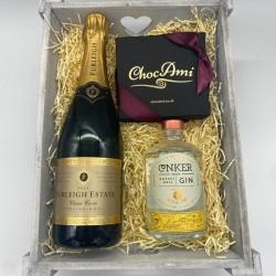 Tipple Treat Chocolate & Alcohol Gift Hamper
