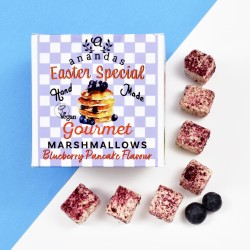 Easter Special Blueberry Pancake Marshmallows (Vegan)