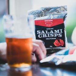 Salami crisps - Chilli