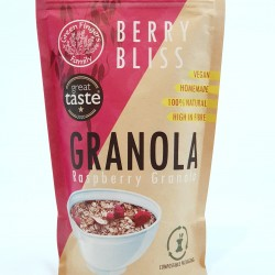 Berry Bliss - Raspberry Granola (300g bag)