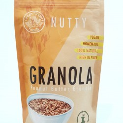 Nutty - Peanut Butter Granola (300g bag)