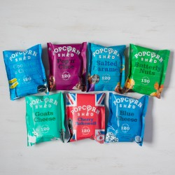 Gourmet Popcorn 7 Flavour Bundle - Blue Selection
