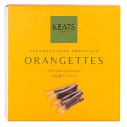 Dark Chocolate Coated Orangettes