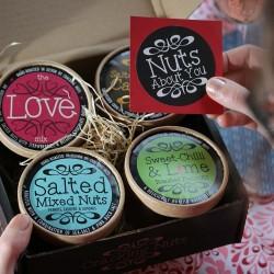 Valentine's Day Love Box (4 Nut Selection Box)