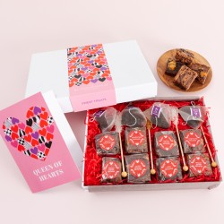 Queen of Hearts' Afternoon Tea For Four Gift