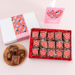 Queen of Hearts' Indulgent Brownie Gift