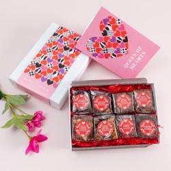 Queen of Hearts' Gluten Free Luxury Brownie Gift