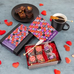 King of Hearts' Gluten Free Afternoon Tea For Two Gift