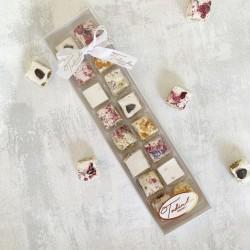 Handmade Nougat medium gift box (18 pieces)