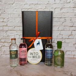 Luxury Scottish 20cl Into The Wild Vodka & Mixer Hamper