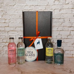 Luxury Scottish 20cl Sea Glass Gin & Tonic Hamper