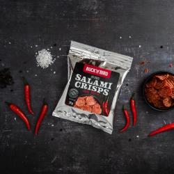 Keto Friendly Salami Crisps - Chilli (Box Of 12)