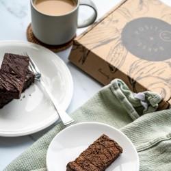 Gluten Free Birthday Brownie