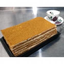 Medovic - Russian Honey Cake (un-cut 8 pieces)