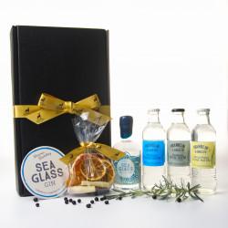 Luxury Scottish 20cl Sea Glass Gin & Tonic Hamper