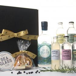 Luxury Scottish Sea Glass Gin Hamper