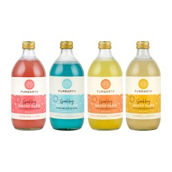 Purearth Sparkling Water Kefir Mixed Pack 550ml (4 Pack)