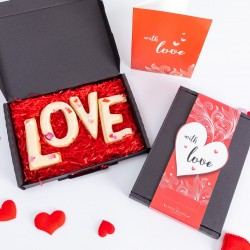Valentine's LOVE Biscuit Box