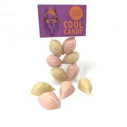 Cool Candy - Dairy Free White Choc Pink & White Mice