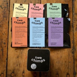 Set of Six Coffee Samples with Tin and Magnet Gift Set