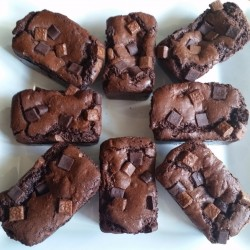 Mama's Treat Double Chocolate Lactation-Boosting Brownies