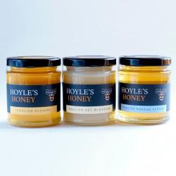 Raw English Honey Collection (3 x 250g)