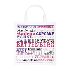 Favourite British Cakes Pink Bag