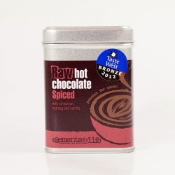 Spiced Raw Dairy Free Hot Chocolate