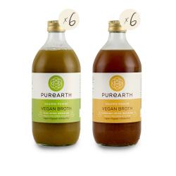 Purearth Vegan Broth Pack (12 Pack)