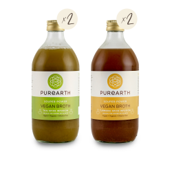 Purearth Vegan Broth Pack (4 Pack)