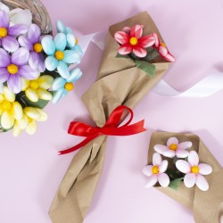 Handmade Luxury Vegan Chocolate Bouquet Flowers