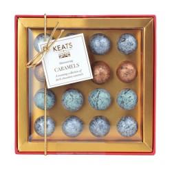 Shimmering Dark Chocolate Truffles, 16pcs Gift Box
