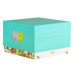 Milk Chocolate Speckled Mini Eggs, 400g Gift Box