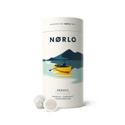 Norlo Organic Compostable Nespresso® Coffee Pods - (2x Tubes - 30 Pods)