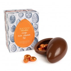Orange Milk Chocolate Egg