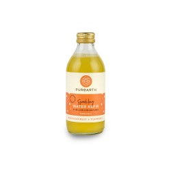 Purearth Passionfruit + Turmeric Sparkling Water Kefir 270ml (4 Pack)