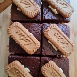 Vegan Traycake | Biscoff and Chocolate (Box of 6)