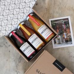 Trio of Dressings Gift Box - World
