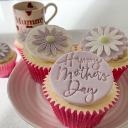 Mother's Day Cupcakes by Post Gift Box