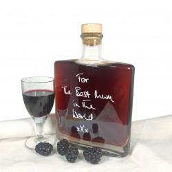 Personalised Liqueur Bottle (Choice of Flavour, Bottle Shape & Message)