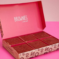 Brownies by Lola's - Red Velvet Brownie Box of 6