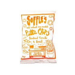 Sundried Tomato & Basil Oven Roasted Pitta Chips (15 x 60g)