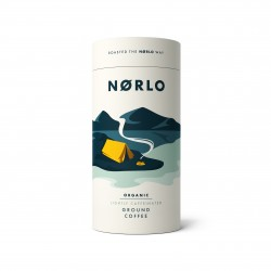 Norlo Organic Lightly Caffeinated Coffee Tubes - (2x 200g Tubes)