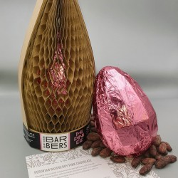 The Pink Egg (Raspberry Pink Chocolate)